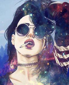 Art Sketches, Art Drawings, Stoner Art, Digital Art Girl, Hippie Art, Foto Art, Psychedelic Art, Erotic Art, Cartoon Art