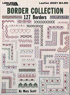 Border Collection (Leisure Arts #2021) by Mary Scott https://smile.amazon.com/dp/B000JYIUTK/ref=cm_sw_r_pi_dp_x_NRy2zb3TQWM37