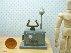dollhouse miniature chemistry instruments | dollhouse miniatures