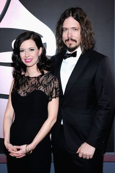 Musicians Joy Williams and John Paul White arrives at the 54th Annual GRAMMY Awards held at Staples Center on February 12, 2012 in Los Angeles, California.