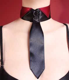 Tie collar by ~Pinkabsinthe on deviantART