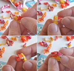 How to make a Starburst Wrapper Chain for jewelry and gifts! #VIPFruitFlavors #Shop