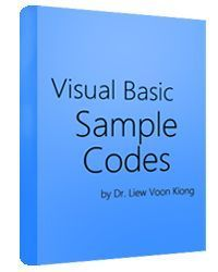 This is the free visual basic tutorial website that you can learn programming for visual basic