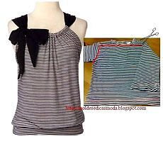 25 Inspirational Ideas for Transforming Your Old Shirts - CretíqueIf you're anything like us, you'll know that there's really no such thing as waste – just bits and. The post 25 Inspirational Ideas for Transforming Your Old Shirts appeared f Diy Clothes Refashion, Shirt Refashion, Diy Shirt, Diy Clothing, Clothing Patterns, Diy Tshirt Ideas, Sewing Shirts, Sewing Clothes, Remake Clothes
