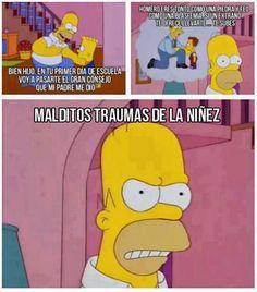Super Ideas For Memes Divertidos De Los Simpson Funny Cartoon Movies, Tv Funny, Movie Memes, Kid Memes, Funny Memes, Simpsons Frases, Simpsons Funny, Simpsons Quotes, The Simpsons Tumblr