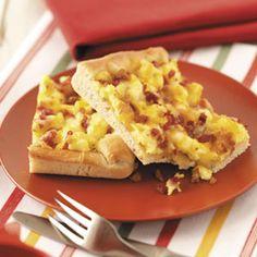 Best of the Best - Easy Breakfast Ideas (Best Breakfast Pizza) Breakfast Desayunos, Breakfast Dishes, Breakfast Recipes, Breakfast Ideas, Health Breakfast, Hashbrown Breakfast, Brunch Dishes, Brunch Ideas, Dinner Ideas