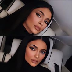 Kylie Jenner Photoshoot, Mode Kylie Jenner, Looks Kylie Jenner, Kylie Jenner Makeup, Kylie Jenner Outfits, Kendall Jenner Style, Kendall And Kylie, Maquillage Kylie Jenner, Beautiful Girl Makeup