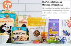 7 Days, 7 Quick Breakfasts Here's How to Shake Up Mornings All Week Long: www.teelieturner.com #thrivemarket
