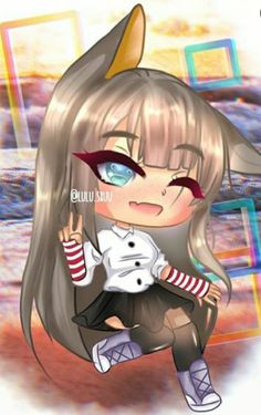New Roblox Robux hack is finally here and its working on both iOS and Android platforms. Cute Kawaii Drawings, Anime Girl Drawings, Anime Wolf Girl, Anime Art Girl, Manga Girl, Anime Girls, Cute Anime Chibi, Kawaii Anime Girl, Cute Characters