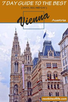How to spend 7 idyllic days in Vienna Austria - A city guide to the best. Where to stay in Vienna, Where to eat & best things to see in Vienna. Europe Travel Outfits, Europe Travel Tips, Travel Destinations, Travel Guides, European Destination, European Travel, Vienna Guide, Wachau Valley, World Of Wanderlust