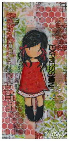 Gorjuss by Chris'Scrap, via Flickr