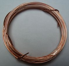 Kupferdraht - Stärke 1,00 mm / 4m lang ( blank)