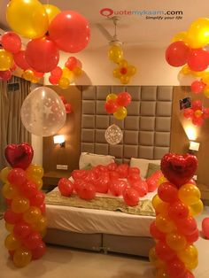 Best Romantic Room Decoration ideas for an unforgettable evening. Surprise your partner with our exciting romantic room decor & set up just for you two. Housewarming Decorations, Diy Birthday Decorations, Balloon Decorations, Romantic Room Decoration, Romantic Bedroom Decor, Dream Dates, Romantic Surprise, Cool Things To Make, House Warming