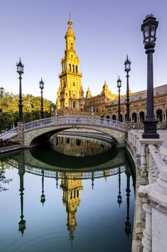 Plaza de España - Seville, Spain by Hugo Carvoeira on 500px