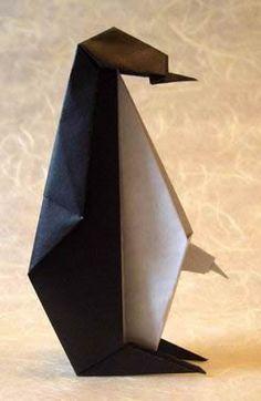 origami penguin