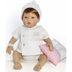 Baby Doll: Lee Middleton Wee Wonder Tiny Love St BlBlue 2556 >>> You can get more details by clicking on the image.