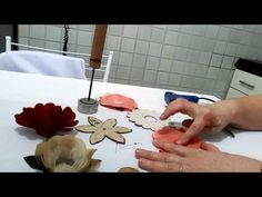 Como fazer forminha de tecido - YouTube