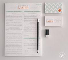 Meg Laz - Branding yourself Cv Design, Resume Design, Brand Identity Design, Stationery Design, Layout Design, Print Design, Branding Design, Logo Design, Self Branding