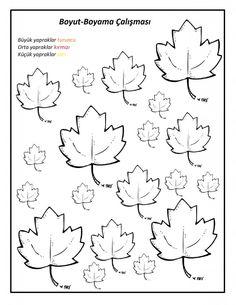 Yapraklarla Matematik Etkinlikleri | Matematik Çalışma Sayfaları Autumn Activities For Kids, Preschool Activities, Simple Math, Pre School, Interior Design Living Room, Reggio Emilia, Design Trends, Worksheets, Coloring Pages