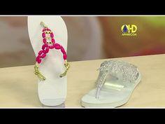 Vida com Arte | Sandálias Customizadas por Helena Couventaris - 18 de Novembro de 2014 - YouTube