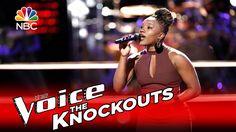 """The Voice 2016 Knockout - Simone Gundy: """"Midnight Train to Georgia"""""""
