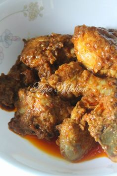 Azie Kitchen: Rendang Ayam Yang Sedap dan Tahan Lama