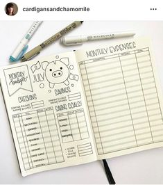 Use a bullet journal budget tracker to take control of your finances.  Get inspiration from these beautiful bullet journal budget spreads, layouts and logs. The perfect creative ideas to put fun into tracking your expenses.      #bulletjournalbudgettracker  #bulletjournalbudgettrackermonthly  #bulletjournalbudgettrackerlayout  #bulletjournalbudgettrackerideas  #bulletjournalbudgettracker