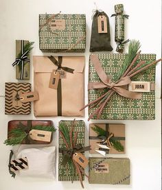 Wicked 22 Best Christmas Gift Wrapping Ideas Yuletide fun for everybody to enjoy. There are many fun and creative suggestions for wrapping gifts, but the majority of them are geared more for adults. Noel Christmas, Best Christmas Gifts, Rustic Christmas, All Things Christmas, Holiday Gifts, Christmas Crafts, Christmas Decorations, Christmas Trends, Christmas Budget
