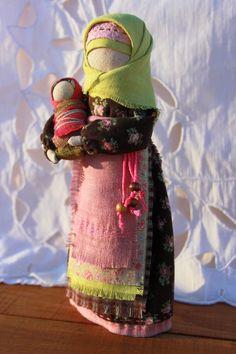 Кукла-оберег Мамушка