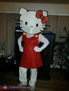 Hello Kitty - Homemade costumes for adults