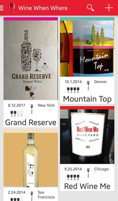 Wine When Where is available on iOS and Android!