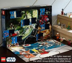 So, we are not really Advent calendar people...but this is amazing!?!  Who knew that Star Wars went with Advent?!?  Amazing...