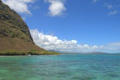 Waimanalo Bay, Oahu...Great place to snorkle