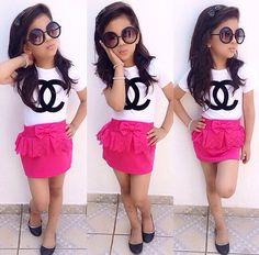 Cute Little Girls Outfits, Little Girl Fashion, Toddler Fashion, Toddler Outfits, Kids Outfits, Kids Fashion, Kids Dress Wear, Dresses Kids Girl, Kids Wear