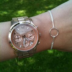 Dogeared Karma bracelet in sterling silver