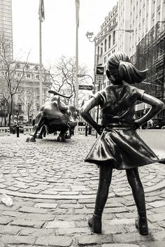 'Fearless Girl & Bull NYC' Photographic Print by Sean Sweeney Charging Bull, Nyc, Girl Decor, Clint Eastwood, Art Pages, Art Girl, Fine Art America, Pop Art, Wall Art