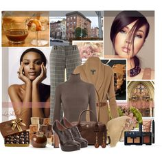 """""""Dreams of Caramel"""" by lashandanista on Polyvore"""