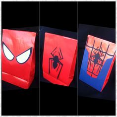 Hey, I found this really awesome Etsy listing at https://www.etsy.com/listing/186913073/superhero-treat-bags