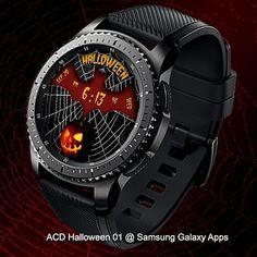 ACD Halloween 01 @ Samsung Galaxy Apps  #samsunggear #gears2 #gears3 #watchface #halloween #holiday #costumeideas