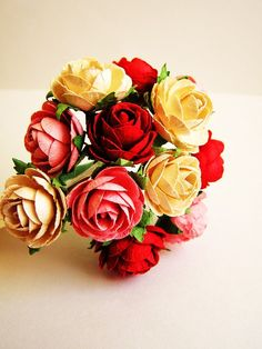 handmade millinery roses...