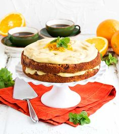 This Gluten Free Vegan Carrot Cake recipe will help create sweet moments. Gluten Free Cakes, Gluten Free Desserts, Vegan Gluten Free, Easy Desserts, Gluten Free Recipes, Delicious Desserts, Paleo, Vegan Desserts, Sugar Free Recipes