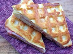 Make a few extra waffles during the weekend, and turn the leftovers into this kid-favorite Waffle-Grilled Ham and Cheese.