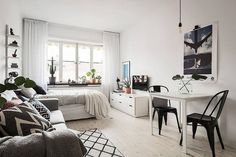 Awesome Tiny Studio Apartment Layout Inspirations 42