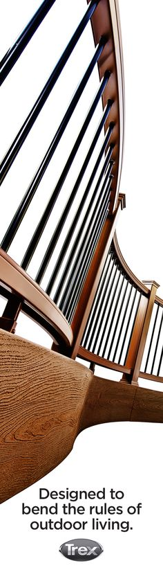 Unique decking and railing designs are taking shape all over the country. Visit trex.com to get inspired by what's next in outdoor living.