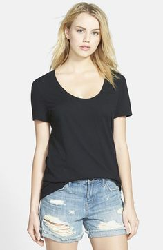 Stem Scoop Neck Short Sleeve Tee available at #Nordstrom