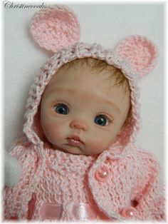 """Polymer Clay!!!!!  Who buys such """"babies""""?  They would certainly be quiet!!!"""