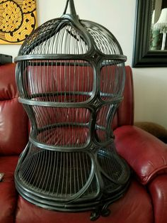 Victorian Decorative Bird Cage (Antique)