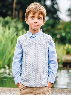 EDWARD from Kids Essential Knits by Quail Studios by Quail Studio featuring 6-8 designs for children aged 7-12 years using Rowans Cotton yarns. Designed to be a wearable all round collection for Kids. Featuring a core collection of hand knit sweaters, cardigans, and accessories that will see your children through the chilly spring months | English Yarns