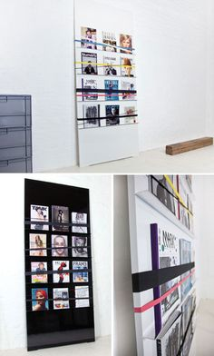 A4 Wall Mounted Brochure Holder In Situ Brochure Rack