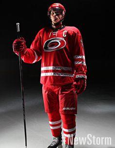 Carolina Hurricanes Home Uniform - - Carolina Hurricanes - New Storm Hurricanes Hockey, Ice Hockey Teams, Columbus Blue Jackets, Carolina Hurricanes, Los Angeles Kings, Pittsburgh Penguins, Chicago Blackhawks, Panthers, Nhl